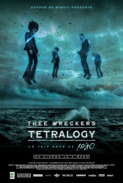 Thee Wreckers Tetralogy - Un trip rock de Rosto (2020)